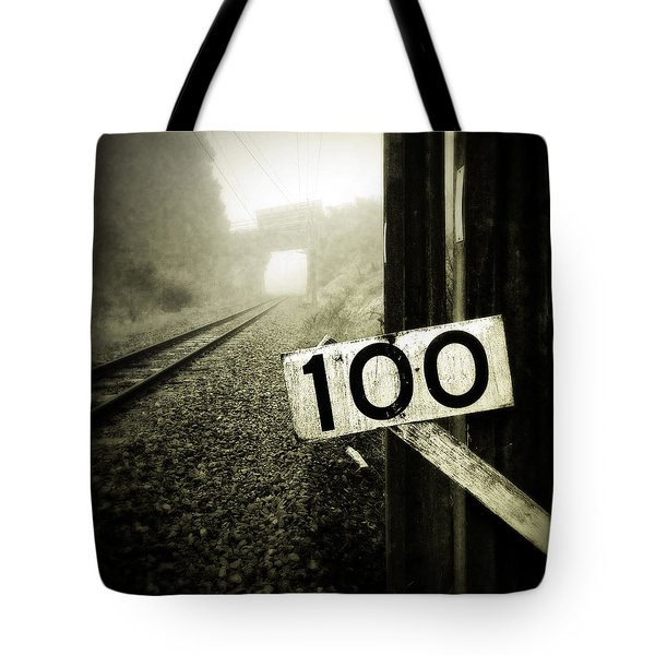 Railway  Tote Bag by Les Cunliffe