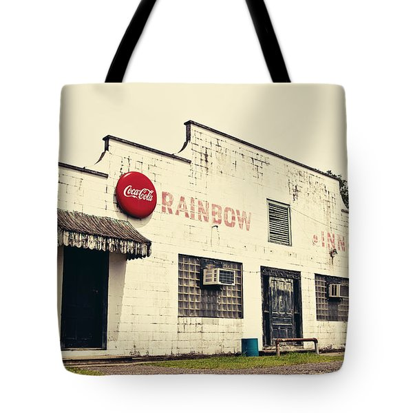 Rainbow Inn Tote Bag by Scott Pellegrin