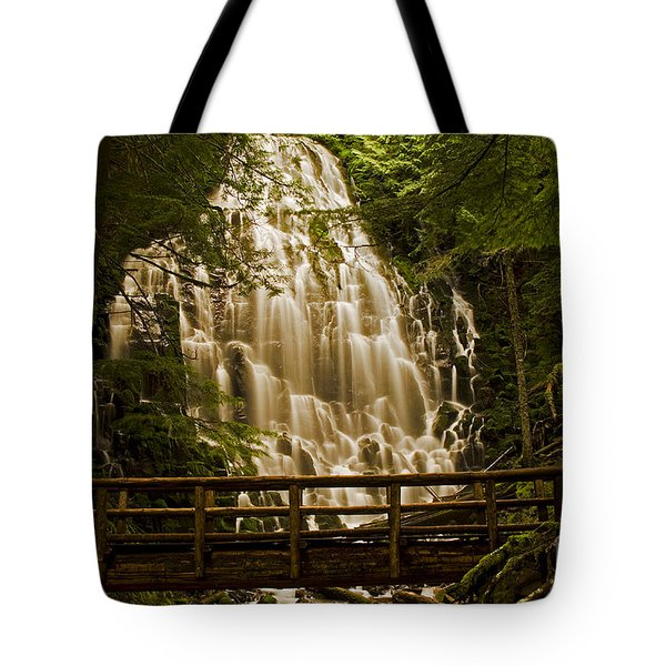 Ramona Falls Tote Bag by Nick  Boren