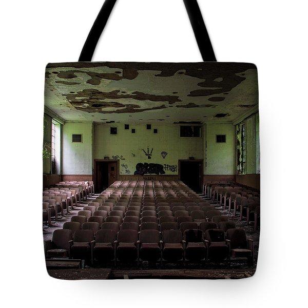 Rear View Tote Bag