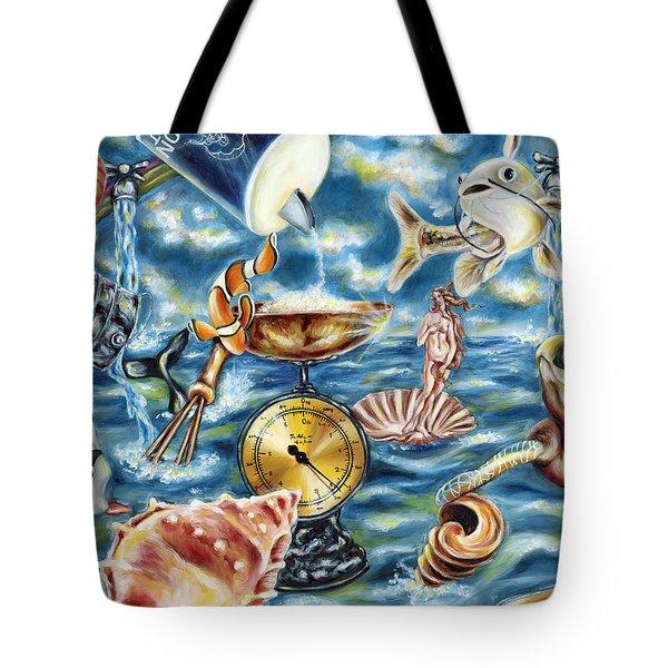 Recipe Of Ocean Tote Bag