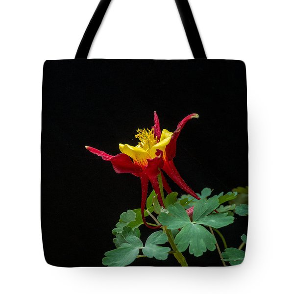 Red And Gold Columbine 2 Tote Bag
