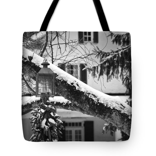 Holiday Candle Light Tote Bag