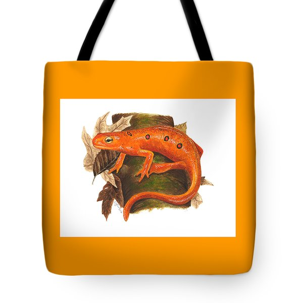 Red Eft Tote Bag