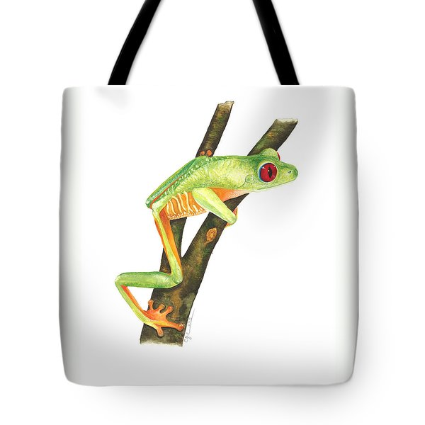 Red-eyed Treefrog Tote Bag