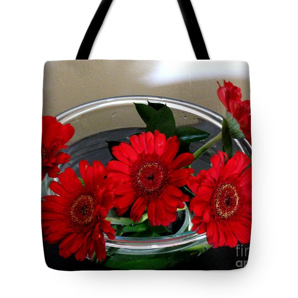 Red Flowers. Special Tote Bag