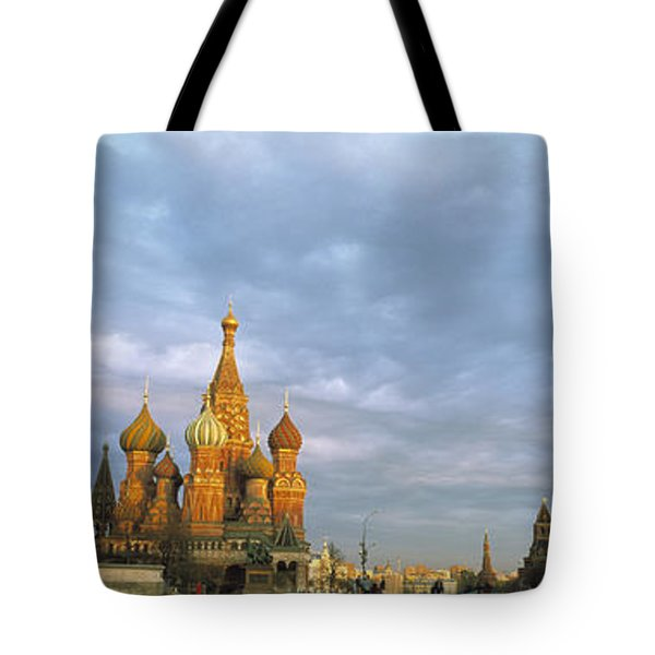 Red Square Moscow Russia Tote Bag