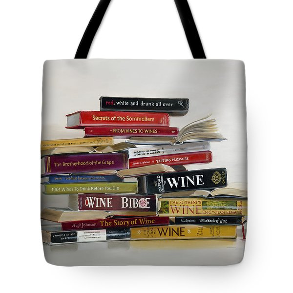 Red White And Drunk All Over Tote Bag