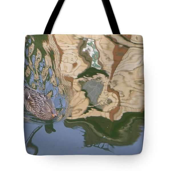 Reflection Mill Tote Bag by Nora Boghossian