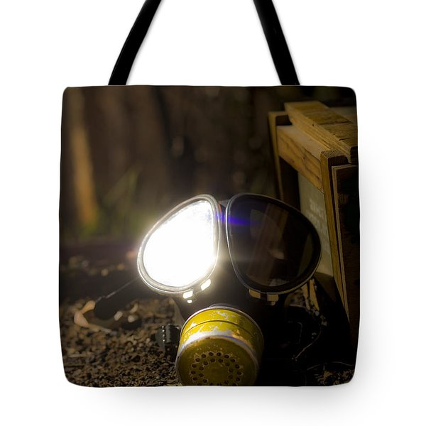 Reflection Of War Tote Bag