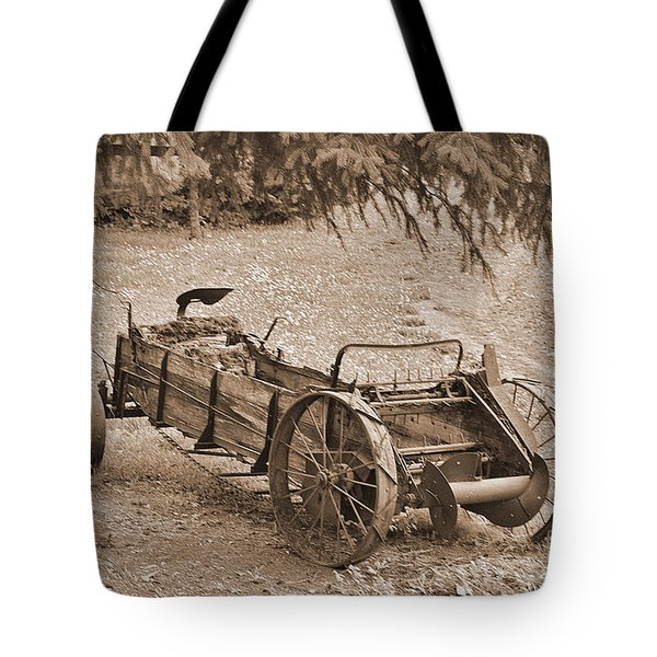 Retired But Ready Tote Bag