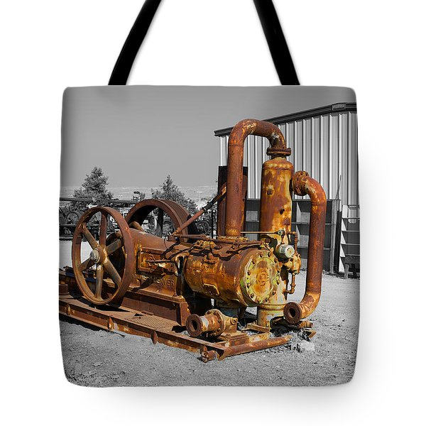 Retired Petroleum Pump Tote Bag