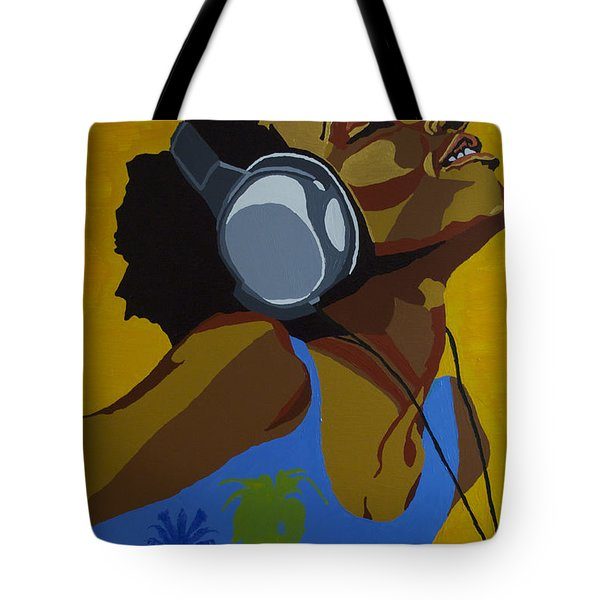 Rhythms In The Sun Tote Bag