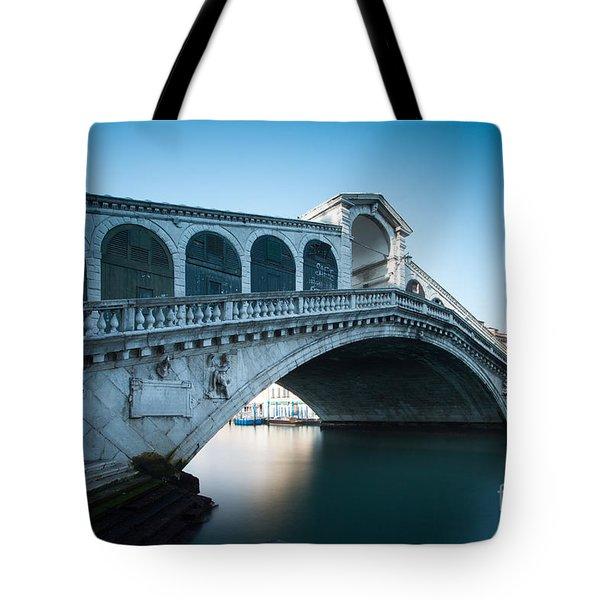 Rialto Bridge Venice Italy Tote Bag