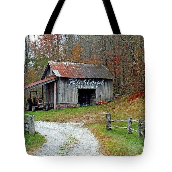 Richland Creek Farm Barn Tote Bag