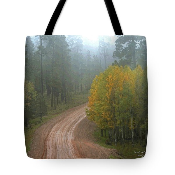 Rim Road Tote Bag