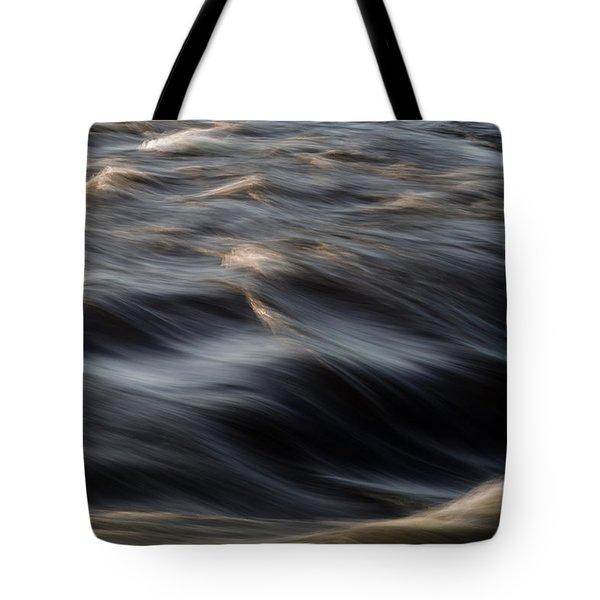 River Flow Tote Bag by Bob Orsillo