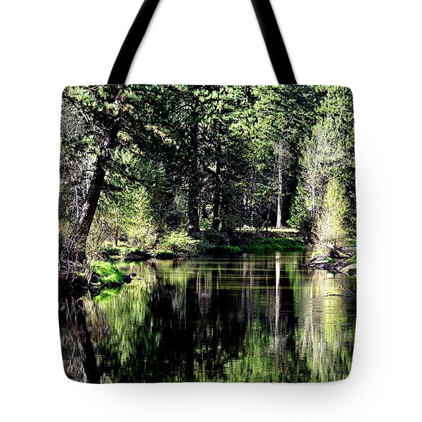 River Reflections Tote Bag