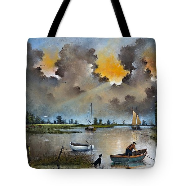 River Yare On The Broads Tote Bag