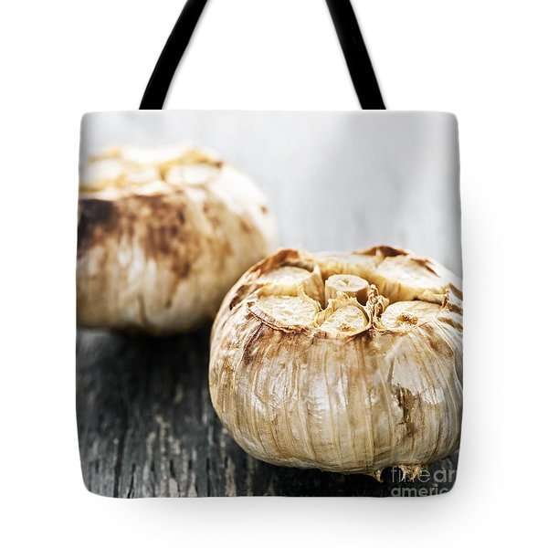Roasted Garlic Bulbs Tote Bag by Elena Elisseeva
