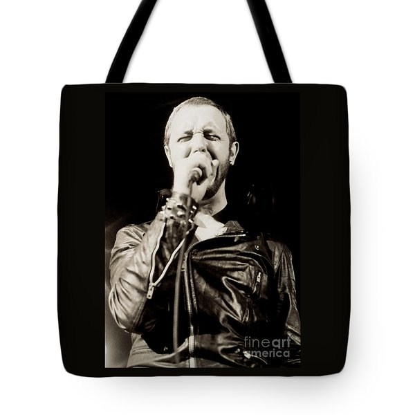 Rob Halford Of Judas Priest At The Warfield Theater During British Steel Tour - Unreleased  Tote Bag