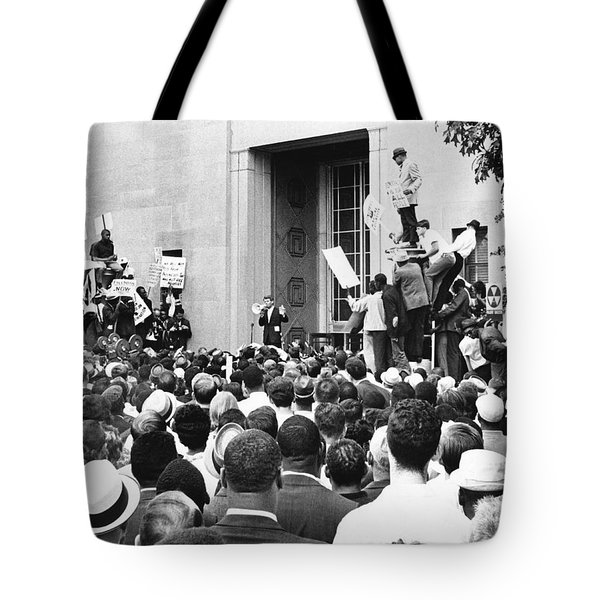 Robert Kennedy Tote Bag by Underwood Archives
