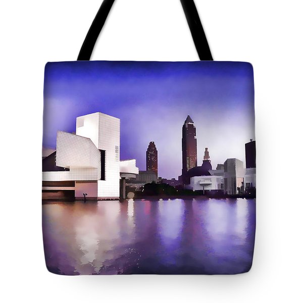 Rock And Roll Hall Of Fame - Cleveland Ohio - 3 Tote Bag