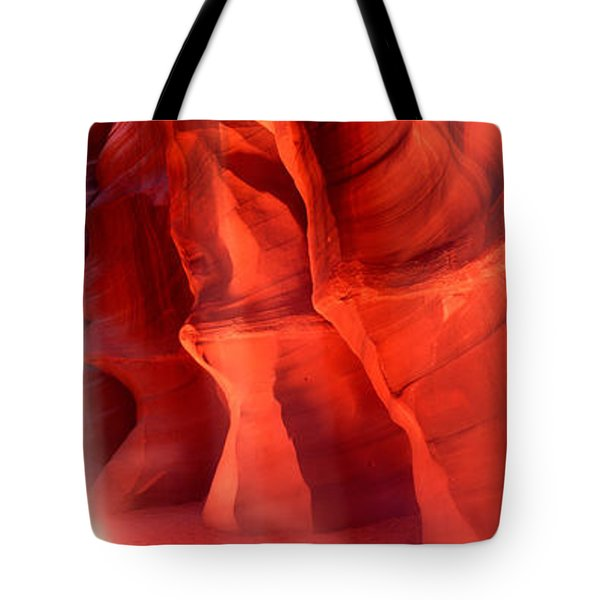 Rock Formations In A Canyon, Antelope Tote Bag