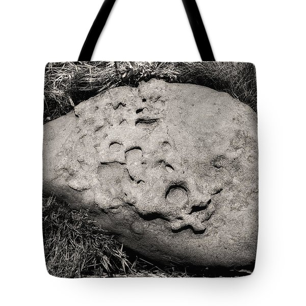 Rock Of Ages Tote Bag by Donna Blackhall