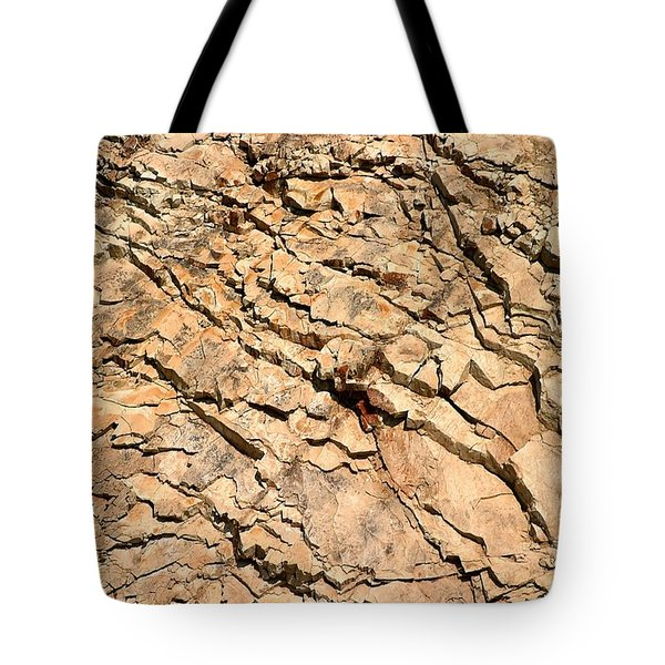 Tote Bag featuring the photograph Rock Wall by Henrik Lehnerer