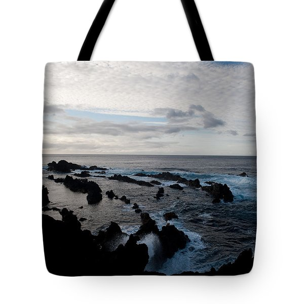 Rocky Beach At Dusk  Tote Bag