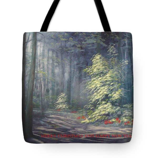 Roena King - Christmas Light Tote Bag