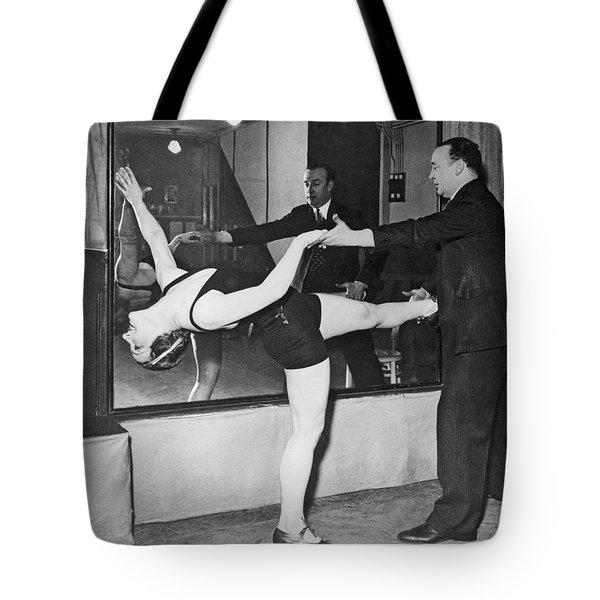 Romanian Princess Irene Bogdan Tote Bag by Underwood Archives