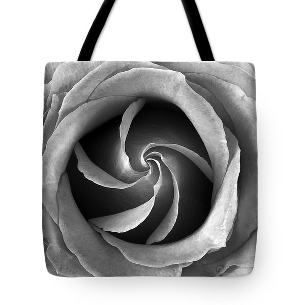 Rose Center Tote Bag