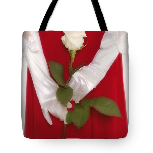 Rose Tote Bag by Joana Kruse
