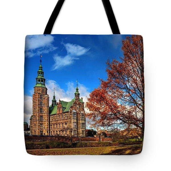 Rosenborg Castle Copenhagen Tote Bag by Carol Japp