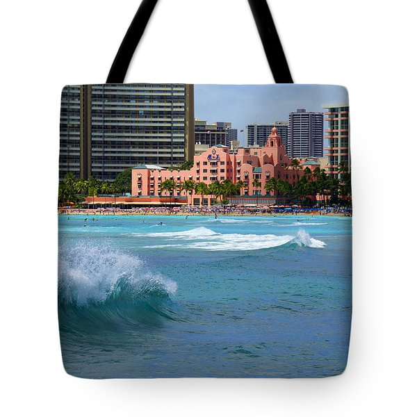 Royal Hawaiian Hotel Tote Bag by Kevin Smith