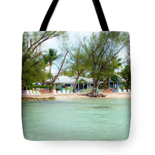 Rum Point Tote Bag