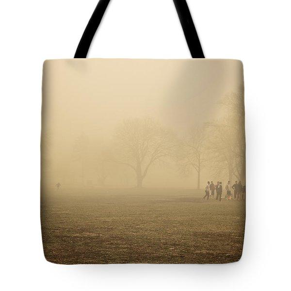 Running Back Tote Bag