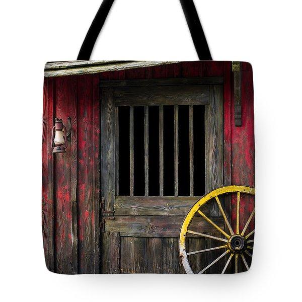 Rural Western Tote Bag