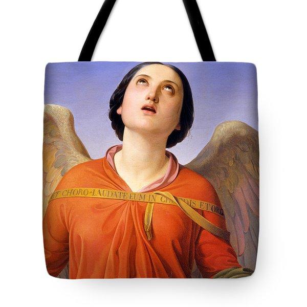 Sacred Music Tote Bag by Luigi Mussini