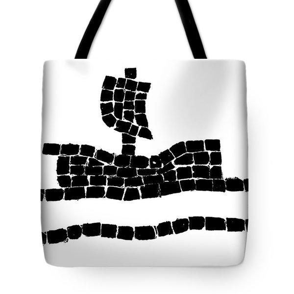 Sail Boat Tote Bag by Gaspar Avila