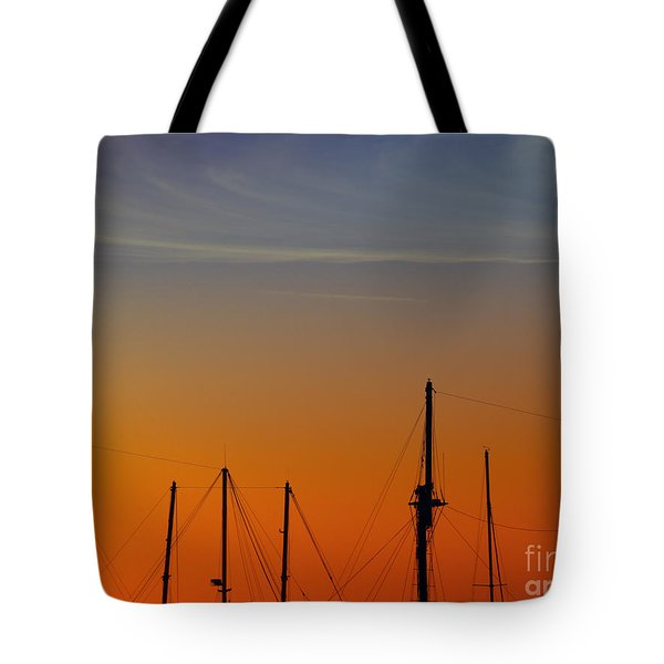 Sailing Boats Tote Bag by Stelios Kleanthous