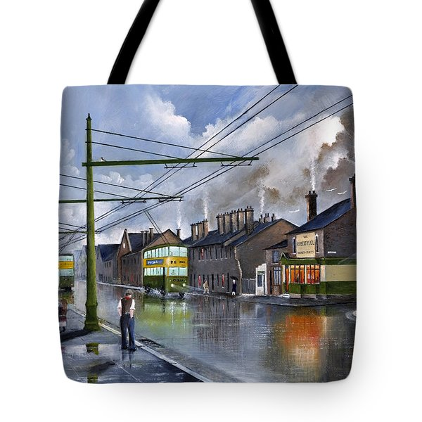 Salop Street Dudley C 1950 Tote Bag