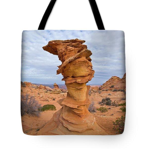 Sandstone Formation Vermillion Cliffs  Tote Bag