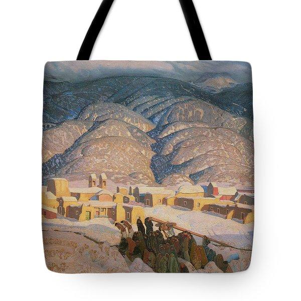 Sangre De Cristo Mountains Tote Bag