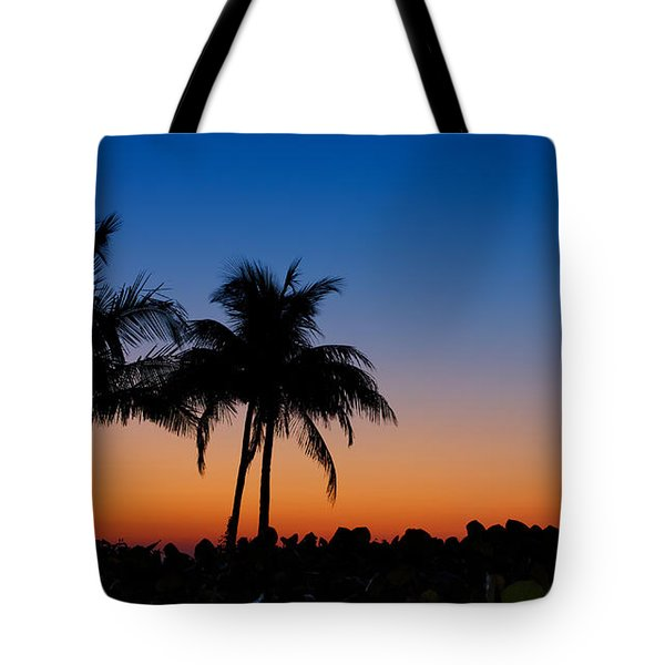 Sanibel Island Florida Sunset Tote Bag