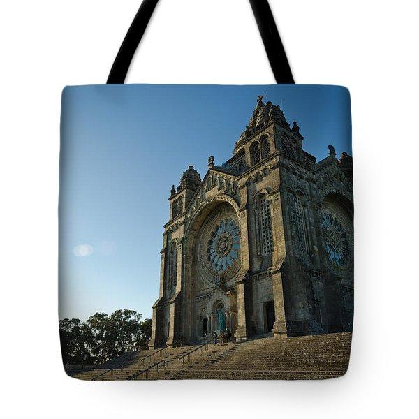 Santuario Do Sagrado Coracao De Jesus Tote Bag
