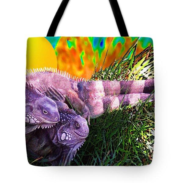 Saurian Love Dance Tote Bag