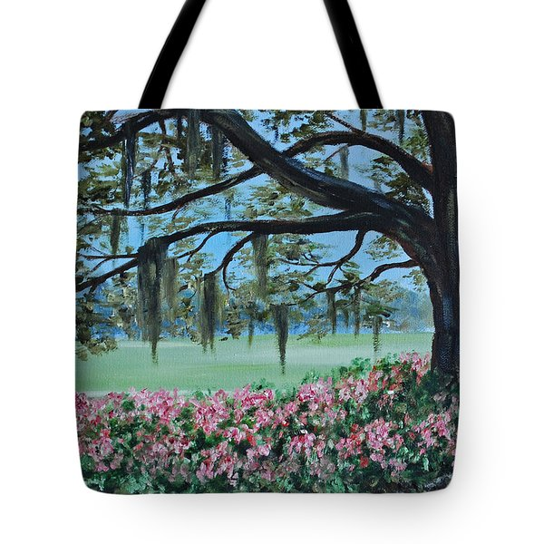 Savannah Spring Tote Bag